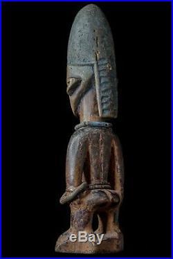 ANCIENNE STATUETTE YORUBA IBEJI COLLECTION JACQUES KERCHACHE 19ème SIECLE