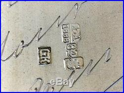 ARGENT MASSIF et VERMEIL RUSSIE SPLENDIDE BOITE RUSSE 1888 133g