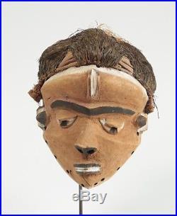 Afrique, Masque Mbuya, ethnie Pendé de l'ouest, collection privée Alain Guisson