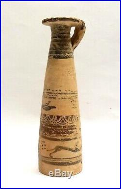 Alabastre Etrusco-corinthien 600bc- Greek Art Etruscan-corinthian Alabastron