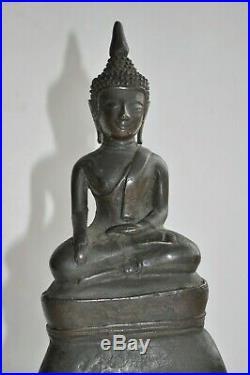 Ancien Bouddha en bronze SIAM XVIIIè siècle