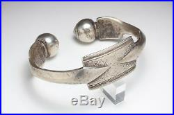 Ancien Bracelet de cheville en Argent Mauritanie Maroc Berbère