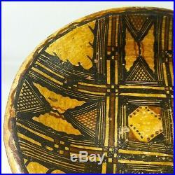 Ancien Grand Plat Poterie Berbere Ideqqi Kabyle