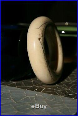 Ancien bracelet Kivu du Zaire-Congo-Art africain, premier, tribal-Lega-Lobi-Vili