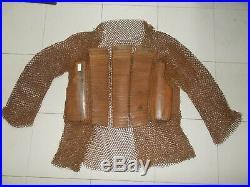 Ancienne Cotte de Maille Indo Perse (deccani chain mail coat, armour, India)