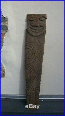 Ancienne sculpture kanak de nouvelle calédonie