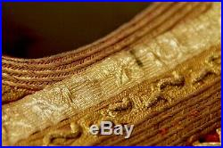 Antique balkan ottoman yelek vest pirpiri gold embroidery greek albania turkey