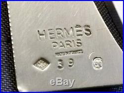 Argent Massif Hermes Paris Par Christofle Necessaire De Bureau