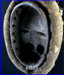 Art Africain African Mask Arte Africano Masque Guéré couvert de Dents 33 Cms