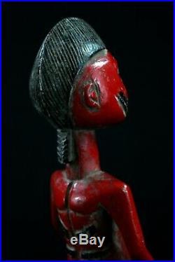 Art Africain Afrikanische Kunst Cavalier Senoufo Senufo Horserider 30 Cms