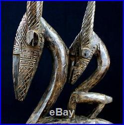 Art Africain Arts Premiers Ancien Masque Cimier Ci Wara Mali 50 Cms ++++++