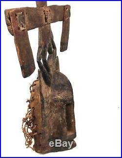Art Africain Arts Premiers Grand Masque Kanaga Dogon Mali 84 Cms