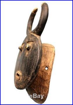 Art Africain Ethnographique Masque Baoulé Goli Région de Béoumi 37,5 Cms