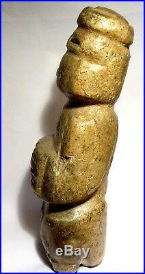 Art Precolombien Grande Idole Mezcala Mexique 300 Bc Pre-columbian Stone Idol