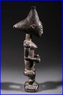 Art africain Statue Attié