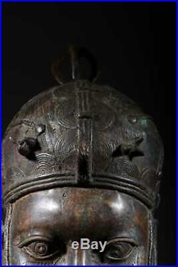 Art africain Tête de reine du royaume d'Ifé 435