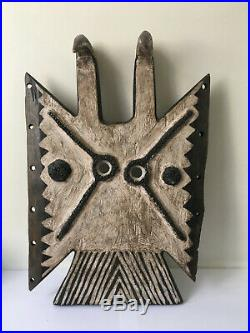 Beau masque africain Toussian (Burkina)