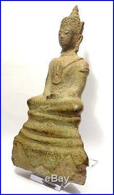 Bouddha Ayutthaya En Bronze 16° S Thailand 16th Ad Bronze Ayutthaya Buddha