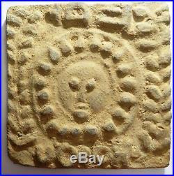 Carreau Byzantin En Terre Cuite 5°/6° S Carthage Tunisie Byzantine Relief Tile