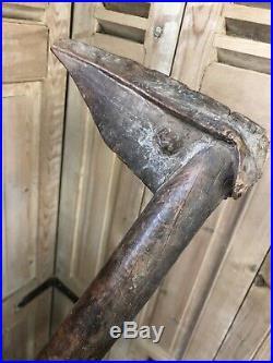 Casse tête Kanak dit Bec d'Oiseau Nouvelle Calédonie Océanie Art Premier Bois