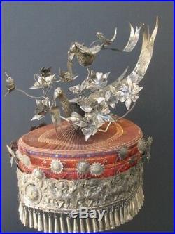 Chapeau ethnique Miao Chine