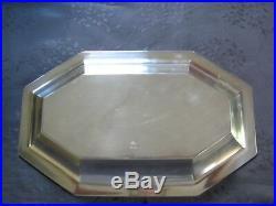 Christofle Art Deco Rare Ravier En Metal Argente Legumier Modele America
