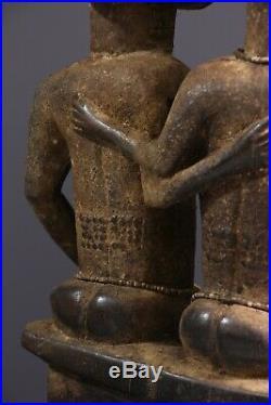 Conjoints Celestes Baoule African Art Africain Tribal Primitif Arte Africana