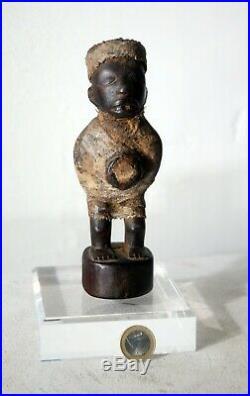 Exceptionnel Nkisi Kongo Congo RDC avec certificat Raoul Lehuard