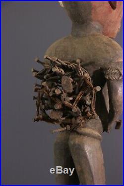 Fetiche Kongo African Art Africain Primitif Arte Africana Afrikanische Kunst