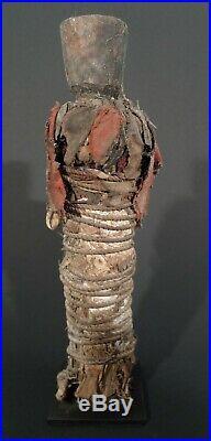 Fétiche anthropomorphe Fon, Bénin, Vaudou, Art tribal, ethnographie