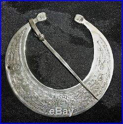Fibule Sud Tunisie Khlal Argent Silver Maghreb Maroc
