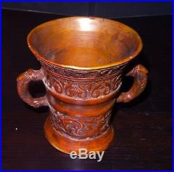 Grand Mortier En Bronze Haute Epoque 17°s Renaissance Bronze Mortar Morser