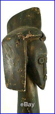 Grande statue africaine Mumuye nigeria afrique art premier n fang dan punu gabon