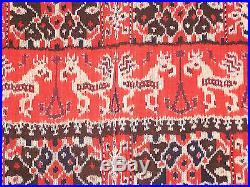 IKAT Tissu Ethnique SUMBA Indonésie 231cm x105 cm