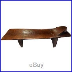 Lit senoufo ancien afrique mobilier collection bois for Meuble africain
