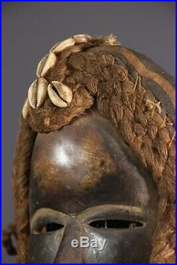 Masque Bagle-deangle Dan African Art Africain Primitif Arte Africana