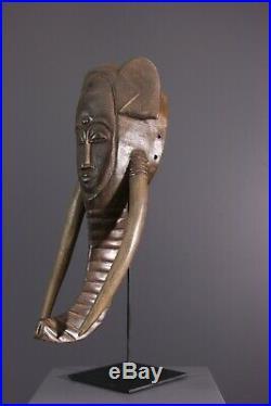 Masque Baoule African Art Africain Primitif Arte Africana Afrikanische Kunst