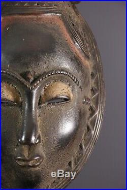 Masque De Dignitaire Yaoure Baoule African Art Africain Primitif Arte Africana