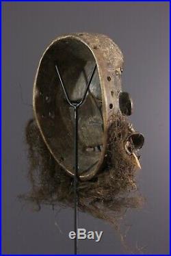 Masque Musicien Wobe Dan African Art Africain Primitif Arte Africana