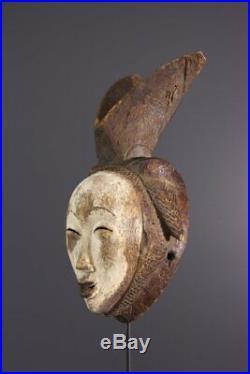 Masque Punu African Art Africain Primitif Arte Africana Afrikanische Kunst