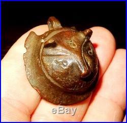 Pendentif En Bronze Anatolie 1000 Bc Anatolian Bronze Feline Pendant Amulet