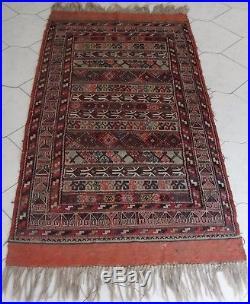 Persian Carpet Vintage Sumak Kelim Azerbaïdjan Tapis Persan Islamique Nomad Rugs