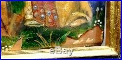 Plaque Emaillee En Cuivre Limoges 16° S. Monogramme Ip Enamel On Copper Plaque