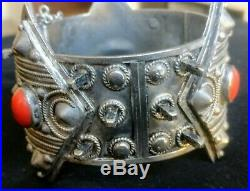 Rare Bracelet Argent Kabylie Beni Yenni Algerie Berbere