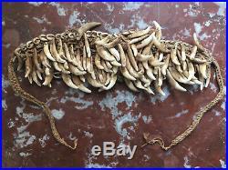 Rare collier de papouasie ramené en 1900