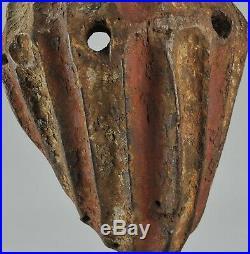 Rare & puissant masque KELA YELA Mongo Mask MBOLE African Tribal Art Africain