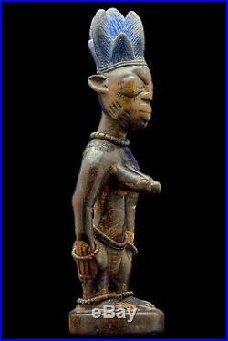 STATUETTE YORUBA NIGERIA IBEJI IBEDJI COLLECTION JACQUES KERCHACHE 19ème SIECLE