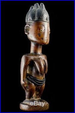 STATUETTE YORUBA NIGERIA IBEJI IBEDJI GRANDE COLLECTION 19ème SIECLE