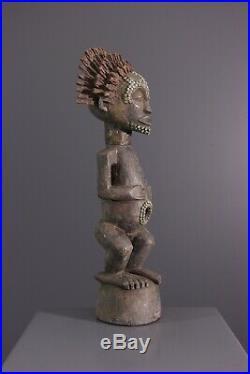 Satue Songye African Art Africain Primitif Arte Africana Afrikanische Kunst