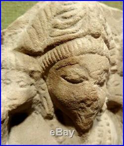 Shiva Antique Sculpte En Gres Inde Medievale 1100 Ad Indian Sandstone Statue
